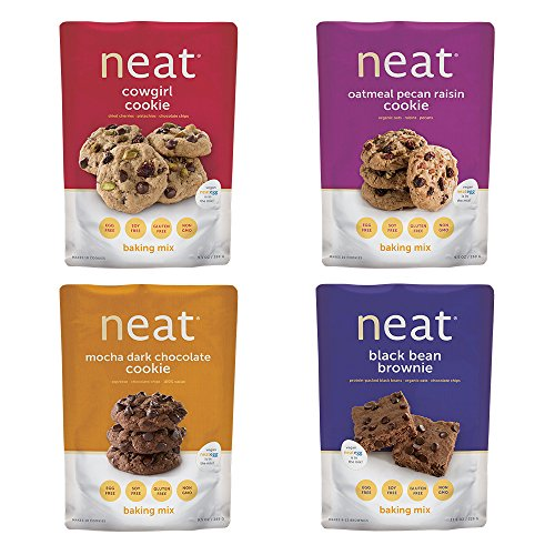 Neat Vegan - Cookie Baking Mix Variety Pack (2.95 lb) - Non-GMO, Gluten-Free, Soy Free, Baking Mixes by Neat