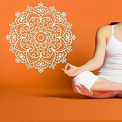 Yoga hindú Buda estatua pared pegatina vinilo pared ...