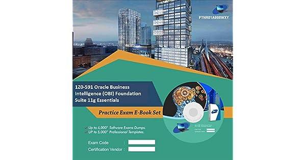 1Z0-591 Oracle Business Intelligence (OBI) Foundation Suite