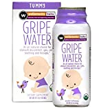 Wellements Organic Gripe Water for Tummy, 4 Fl Oz, 3 Count, Pediatrician Recommended to Ease Infant Stomach Discomfort and Gas