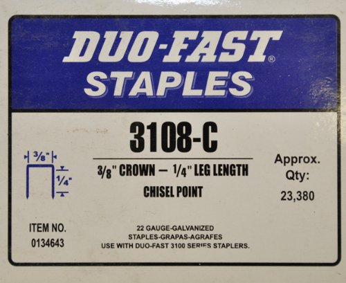 Duo Fast Chisel (Duo-Fast 3108-C 3/8