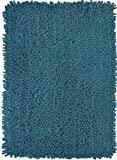 Modern Bathroom Mat Modern Bath by Momentum Home  Premium Machine Washable Bathroom Rug with Non-slip Backing  24 x 40 inch  Teal
