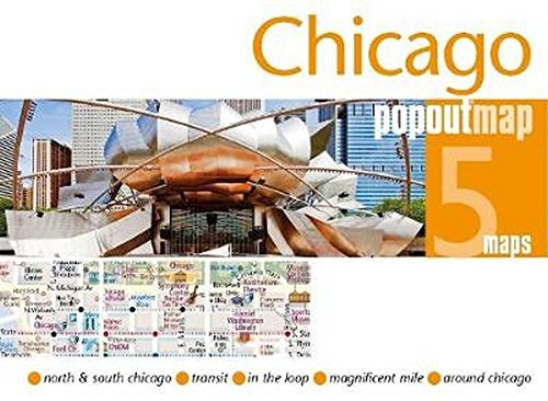 Chicago PopOut Map (Popout Maps)...