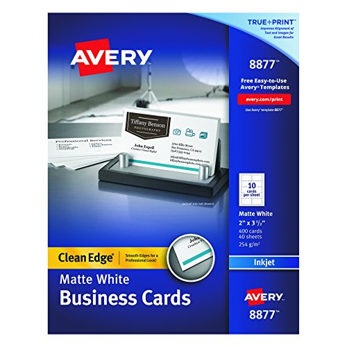 Avery Two Side Printable Business 08877