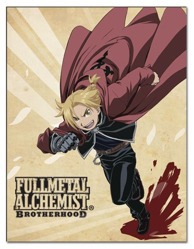 Great Eastern Entertainment Full Metal Alchemist Brotherhood Ed Sublimation Throw Blanket