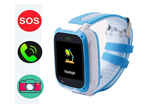 hangang GPS Tracker Smart Watch para niños, Smartwatch para Chicas jóvenes Phone Watch Camera SOS