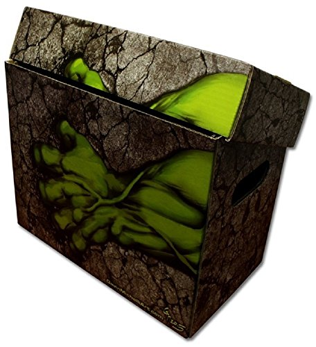 Boxes In Action - INCREDIBLE HULK Art SHORT COMIC Storage Box HULK ()