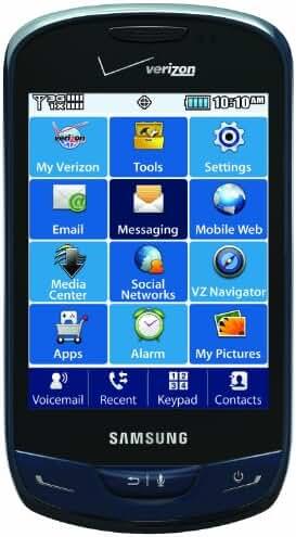 Samsung Brightside, Sapphire Blue (Verizon Wireless)