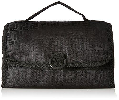 Kuber Industries Black Toiletry Bag  KI12355 , Standard