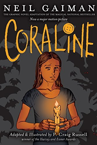 Coraline Graphic Novel (Scary Middle School Halloween Stories)
