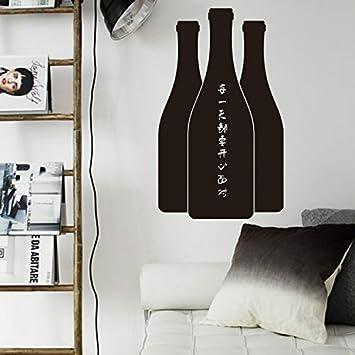 Yanqiao Winebottle pizarra pizarra etiqueta pegatinas de ...