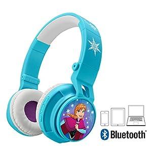 Bluetooth Headphones for Kids Wireless Rechargeable Kid Friendly Sound (Frozen)