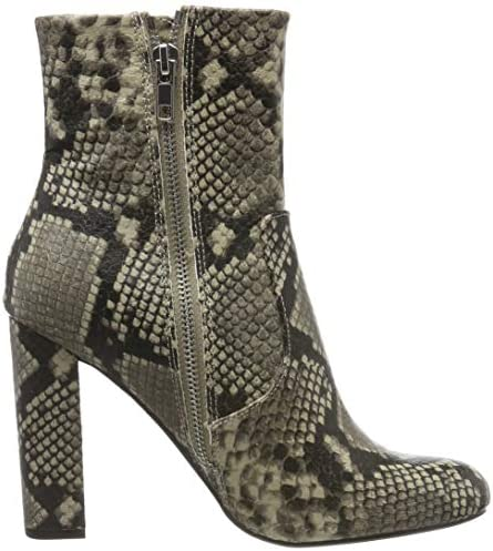 Steve Madden Editor Ankle Boot, Stivaletti Donna, Multicolore Natural Snake 236, 5 UK