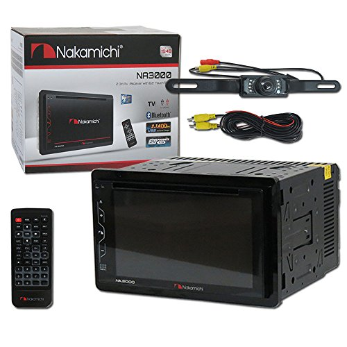 Nakamichi Car audio Double Din 2DIN 6.2 DVD MP3 CD for sale  Delivered anywhere in USA