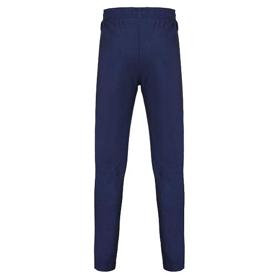 Pantalones Deportivos Hombre SUNNSEAN Sólido Apretados Pantalones Cuerda  Impresos Moda Cómodos para Running Ejercicios Deportes Leggings Largos Pants   ... 93ba90d069f9