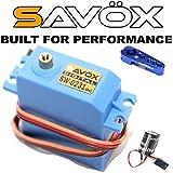 #4: Savox SW-0231MG Waterproof Metal Gear Digital Servo + Powerhobby Glitch Buster + Aluminum Horn