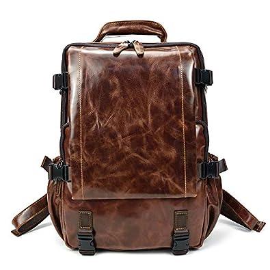 a4b02659be3f レザー リュックサック メンズ 本革 バックパック 男女兼用 お洒落 通勤鞄 通学鞄 リュック