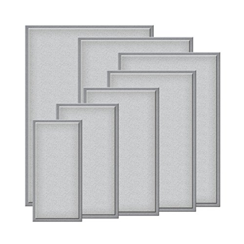 Spellbinders S6-001 Nestabilities Matting Basics A Die Templates, 5 by 7-Inch