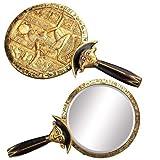 Summit Aegis Egyptian Mirror Collectible Egypt God Sekhmet Pharaoh Figure, Gold,