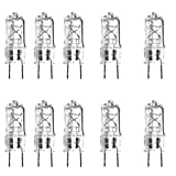 (10)-Pack Anyray Replacement Light Bulb for GE Adora over range microwave and fan model # DVM 1950sr2ss 50W