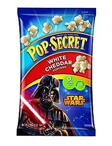 Pop Secret Star Wars Pre Popped White Popcorn, Cheddar, 6 Count