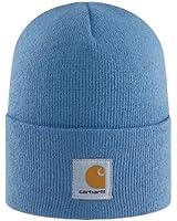Ladies Carhartt - Womens Acrylic Watch Cap - Blue Winter Ski Hat Beanie