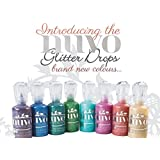 Tonic Studios Nuvo Crystal Drops NEW Glitter Colors - 8 Colors