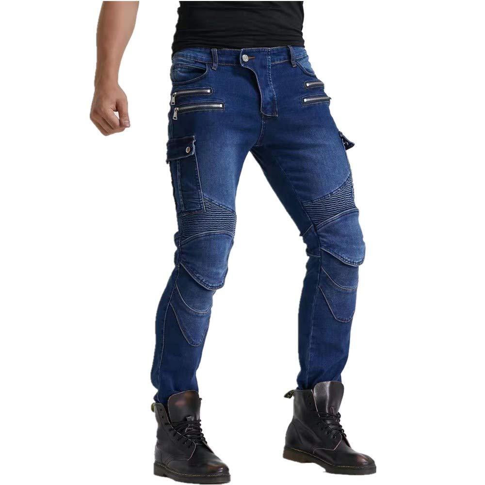 Pantalones De Moto Off-road Con Versi/ón Mejorada De Esterilla Protectora Extra/íble Pantalones De Moto Antica/ída Los /últimos Pantalones De Moto Para Hombre Pantalones De Moto