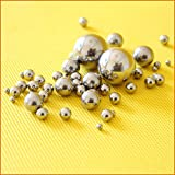 Stainless Steel Lab Ball Mill Grinding Media Grinding Balls (10mm, 1000g)