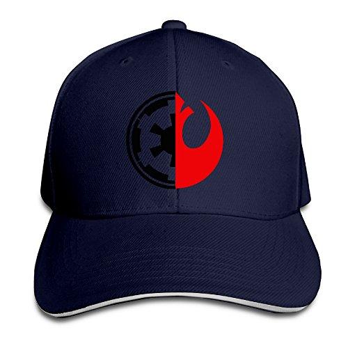 Bang Star Wars Rebel Alliance Logo Sandwich gorra de béisbol sombreros Marino
