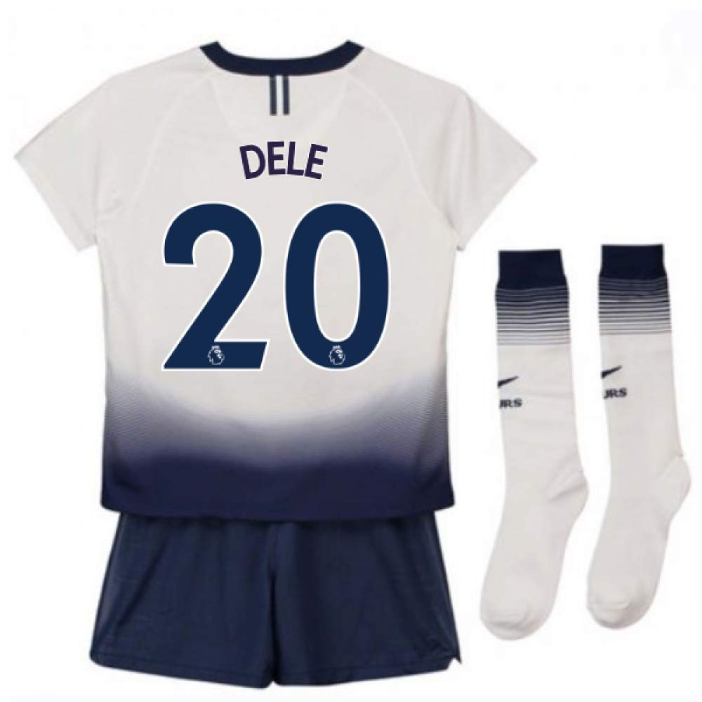 UKSoccershop 2018-2019 Tottenham Home Nike Little Boys Mini Kit (DELE Alli 20)