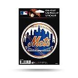 "Rico Industries, Inc. New York Mets Rico 5"" METALLIC DECAL Die Cut Auto Sticker Emblem Baseball"