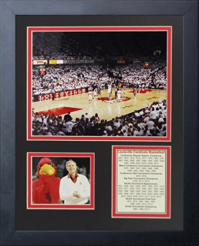 Legends Never Die Louisville Cardinals Freedom Hall Collage Photo Frame, 11'' x 14'' by Legends Never Die