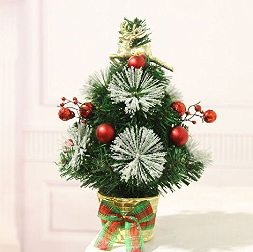 Mini Christmas Tree Ornament Christmas Decoration Shopping Mall Desktop Christmas Tree Decoration Small Christmas Tree Send Child Gift (01)