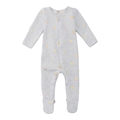 f331a6d32d Amazon.com  Owlivia Organic Cotton Baby Boy Girl Fleece Zip up Sleep ...
