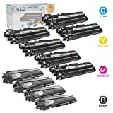 LD © Brother Compatible TN-210 Set of 8 High Yield Toner Cartridges: 2 of each Black TN210BK, Cyan TN210C, Magenta TN210M, and Yellow TN210Y, Office Central