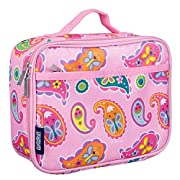 Wildkin Kids Insulated Lunch Box for Boys and Girls, Perfect Size for Packing Hot or Cold Snacks for School and Travel, Patterns Coordinate with Our Backpacks and Duffel Bags, Paisley