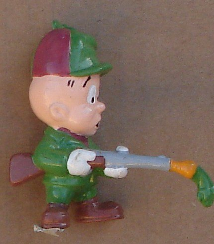 elmer-fudd-pvc-figure-approx-2-1-2-tall-with-shotgun