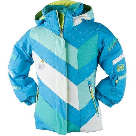 Obermeyer Chakra Jacket - Toddler Girls' Glacier Blue, 5T