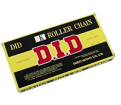 D.I.D 428 H Standard Series Non O-Ring Chain - 130 Links , Chain Type: 428, Chain Length: 130, Color: Natural, Chain Application: All - 428 O-ring Non