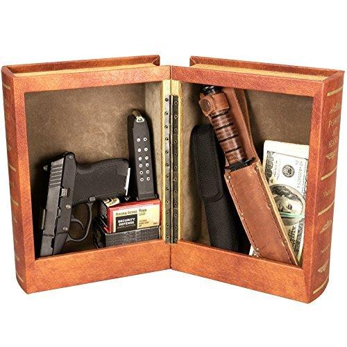 Double Diversion Book Gun Safe
