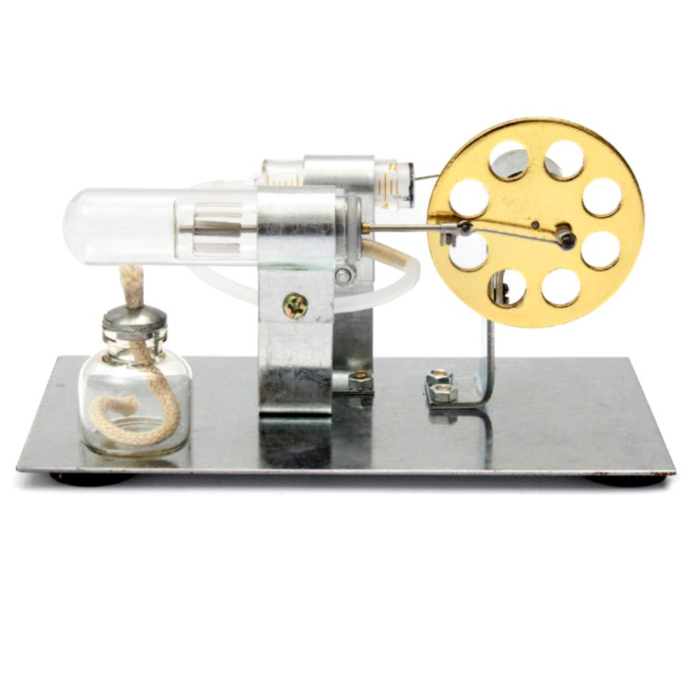 At27clekca Hot Air Stirling Engine Model Motor Steam Power Physics Toy Electric Generator by At27clekca (Image #3)