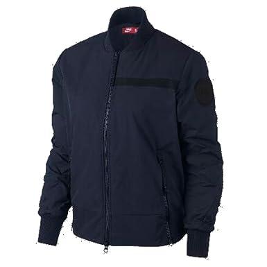 730e20b38dd7a NIKE Womens Air Bomber Woven Jacket at Amazon Women s Coats Shop
