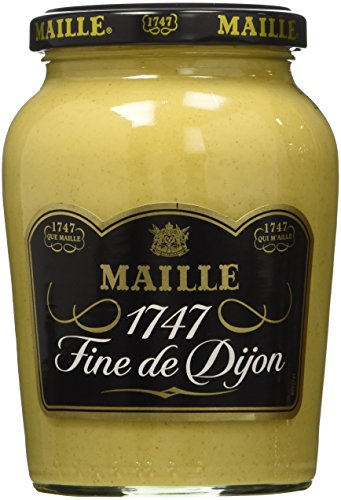 - Maille Dijon Mustard Jar, 13.4 oz