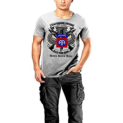 Wholesale 82nd Airborne Division Army T-shirt Paratrooper 2 SIDED PRINT hot sale