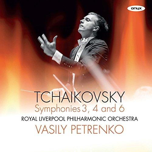 Price comparison product image Tchaikovsky: Symphonies Nos.3, 4 & 6