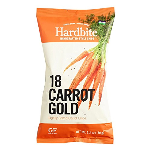 Hardbite Handcrafted-style Lightly Salted Vegetable Chips 5.2oz (Carrot) -