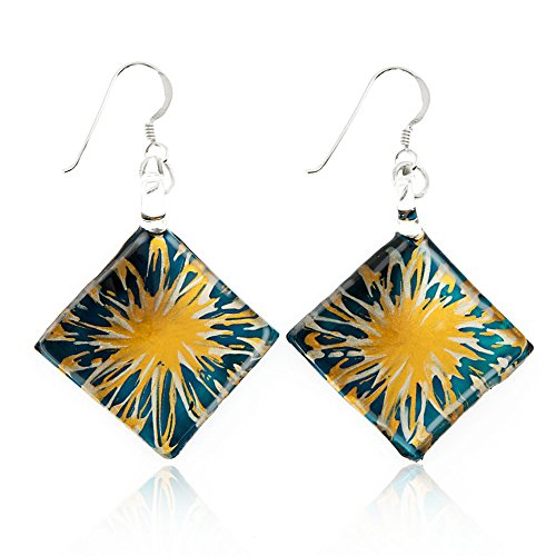 Hand Painted Earrings Jewelry - 5