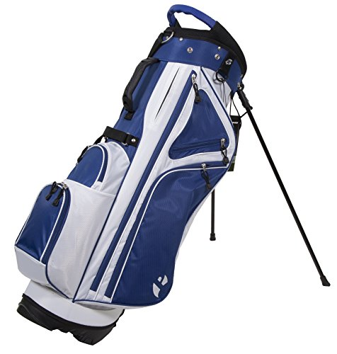Pinemeadow Golf Courier 3.0 Stand Bag, Blue/White