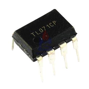 Amazon.com: 5 chips IC TL071CP TL071 071 DIP-8 de bajo ruido ...